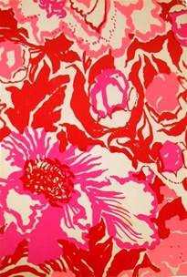 Red Lilly Pulitzer Print