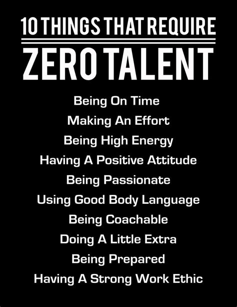 10 Things That Require Zero Talent White On Black