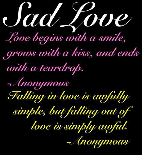 english sad love quotes quotesgram