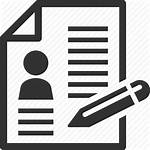 Resume Icon Drawing Transparent Vector Freeiconspng