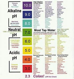 PH scale and alkalinity of foods | Informative | Pinterest