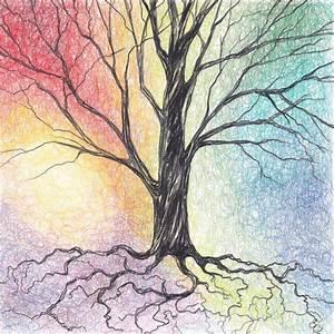 Colored Pencil: Tree | Collidescopes Blog