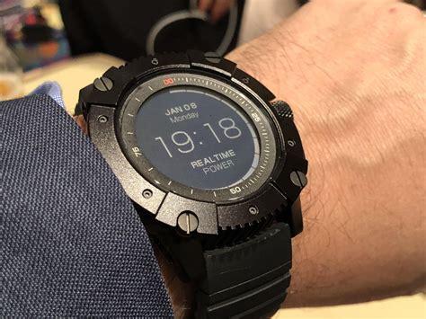 matrix powerwatch x el reloj que puede cargarse con el