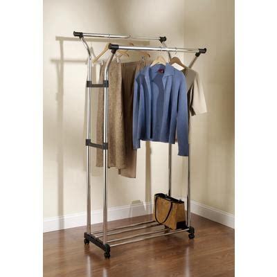 rubbermaid hang garment rack with wheels home