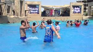 Pool party at lost paradise, bahrain - YouTube