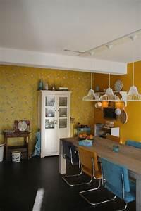 cuisine couleur moutarde excellent le jaune moutarde une With quelle couleur associer au gris perle 15 cuisine amenagee design et elegant