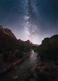 Zion National Park Milky Way Galaxy