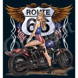 Route 66 En Moto : d bardeur homme moto route 66 pin up 11001 ~ Medecine-chirurgie-esthetiques.com Avis de Voitures