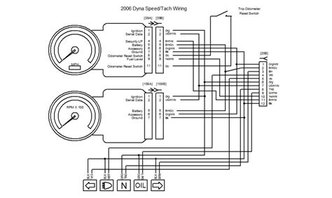 Tach Wire Diagram by Tach Harley Davidson Forums