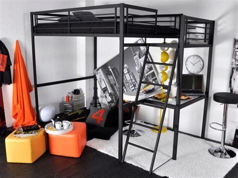 lit mezzanine 2 places avec bureau lit mezzanine casual ii 2 personnes bureau option matelas