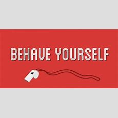 Behave Yourself Signs That Promote Good Sportsmanship  Signscom Blog