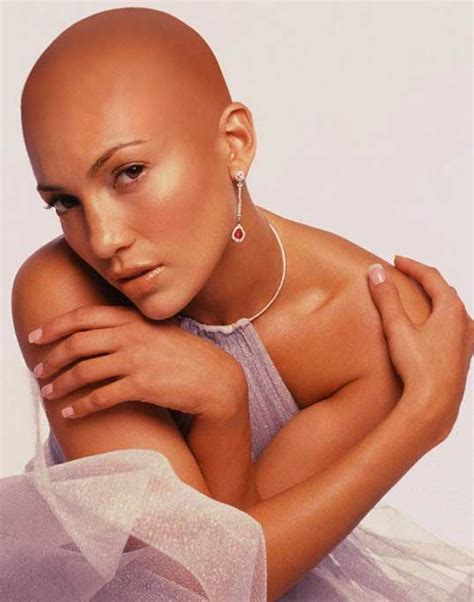 female celebrities  bald