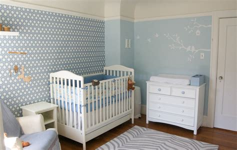 papier peint chambre b b mixte custom nursery by top baby boy nursery