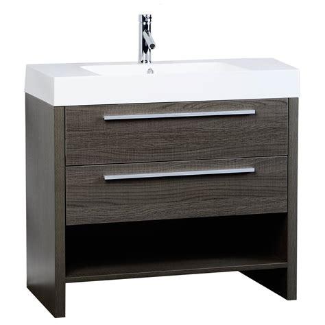 designer bathroom vanities cabinets mula 35 5 quot modern bathroom vanity oak rs l900 oak on