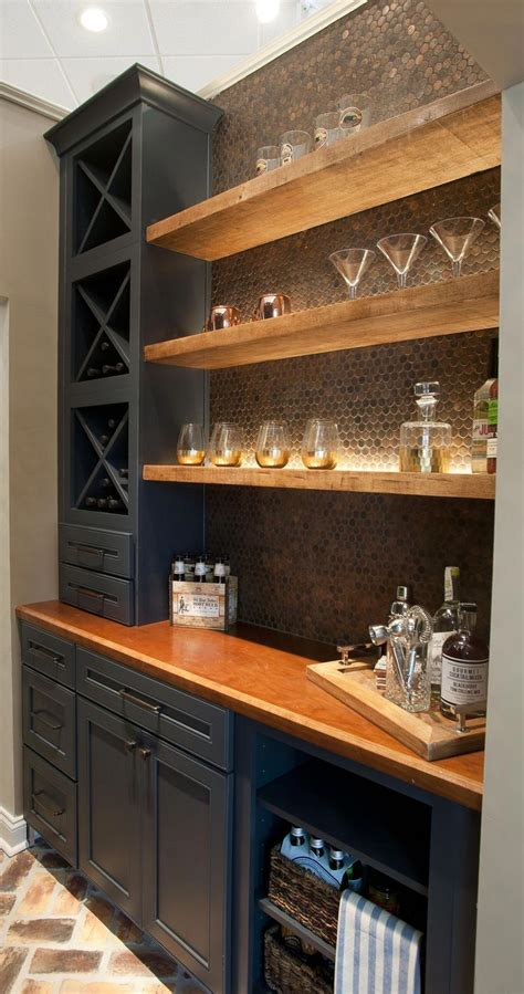 butler pantry  bar design  dalton carpet  wellborn