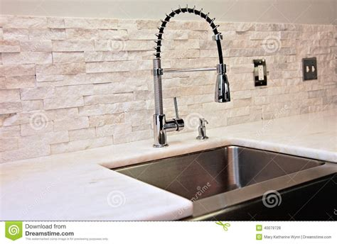 kitchen faucet prices modern kitchen detail stock photo image of contemporary
