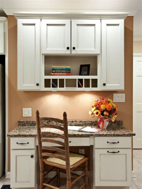 repainted kitchen cabinets kitchen desk home design ideas pictures remodel and decor 1860