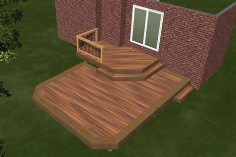 stunning images decking plan deck plan 2r11007 diy deck plans