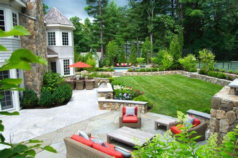 blade  grass boston landscape design installation