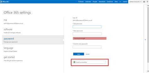 Office 365 Mail Change Password by How To Reset The Administrator Password For Office 365