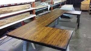 Custom Wood Countertops, Islands, Slab Tables, Bar Tops