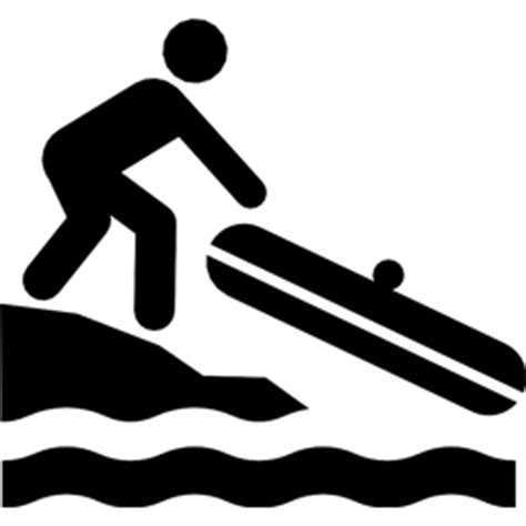 Boat Launch Icon by Small Boat Launch Free Icons