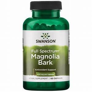 Magnolia Bark Supplement - 400 Mg