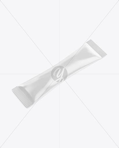 Free psd mockup of free tri fold brochure (top side view). Download Glossy Stick Sachet Mockup - Half side View (High ...