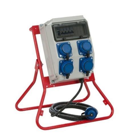 coffret electrique de chantier coffret de chantier mono 4 prises nf arr 234 t d urgence ip66