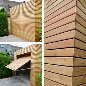 Garage Mit Holz Verkleiden : holzgarage aus l rche wir liefern ihnen standardm ig in ihrem wunschdesign garagen und ~ Watch28wear.com Haus und Dekorationen