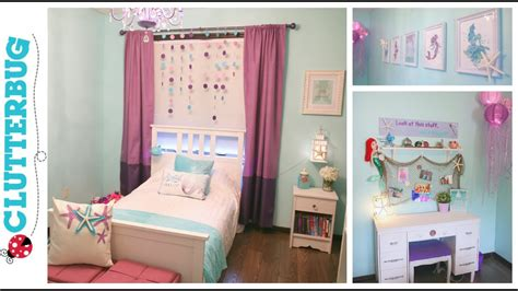 The Mermaid Bedroom Decor by Diy Mermaid Bedroom On A Budget Before And After Room