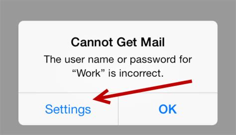 cannot get mail iphone ios fix for gmail password incorrect error in mail app