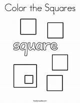 Coloring Squares Shape Pages Twisty Square Noodle Sheets Printable Twistynoodle Built California Usa Mini Books Circles sketch template