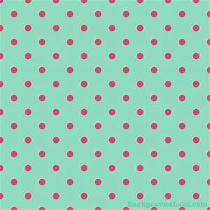 Pink and Mint Green Polka Dot » Background Labs by ...