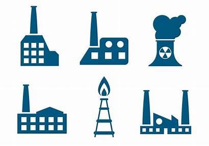 Factory Vector Flat Vectors Clipart Graphics Icons