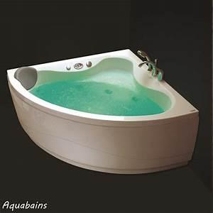 Baignoire D Angle 135x135 : baignoire balneo victory spa baignoire curacao nvs3 ~ Edinachiropracticcenter.com Idées de Décoration