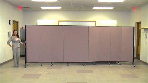 Screenflex Easy Room Divider Set Up-youtube