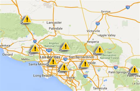 scattered blackouts hit southern california  heatwave