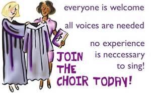 Church Choir Practice Clip Art