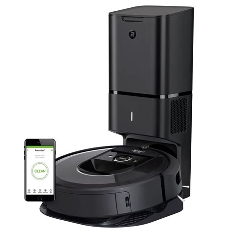 Product Of The Week Roomba I7 With Automatic Dirt Disposal by Irobot Roomba I7 Wi Fi Connected Robot Vacuum With