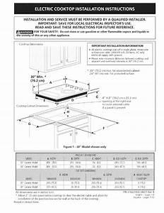 Kenmore Cooktop 318201439 User Guide