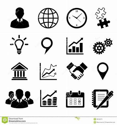 Icons Business Infographics Vector Presentation Illustration Isolated