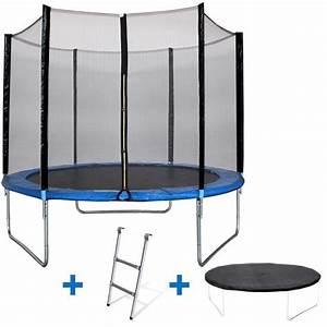 Prix D Un Trampoline : kangui maxi eco trampoline 305 cm avec chelle ~ Dailycaller-alerts.com Idées de Décoration