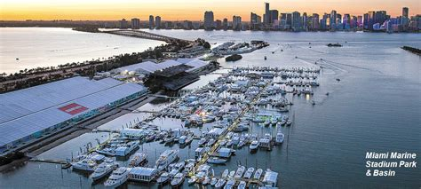 Miami Boat Show Water Taxi Locations by Miami International Boat Show Spawns Waterborne Transit