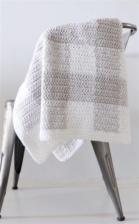 crochet gingham blanket patterns daisy farm crafts