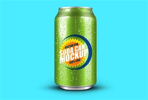 bebida ephotoshop template can soda recursos dise 241 ador mock up lata refresco proyectos que