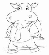 Coloring Hippo Hippopotamus Student Printable Momjunction Animal Bestcoloringpages Sheets Toddlers Colors Popular Animals sketch template