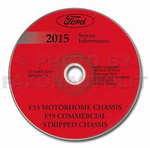 2015 Ford F53 Motorhome Repair Shop Manual On Cd