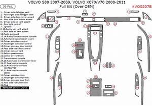 Volvo S80 2007 Xc70 2008