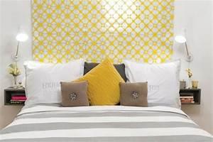 decoration chambre jaune et gris visuel 6 With deco chambre gris et jaune